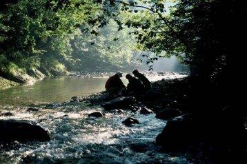 Fluss-Trekking
